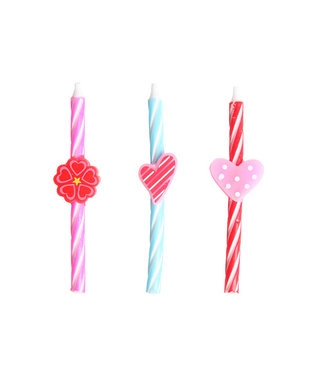 Cosy & Trendy For Kids Mini Candle Love Set6 2x3assd0,5xh8cm