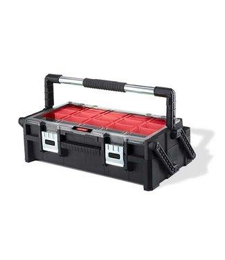 Keter Cantilever - Organiser Duo - M - Zwart-rood - 57.2x30.7x16.7cm