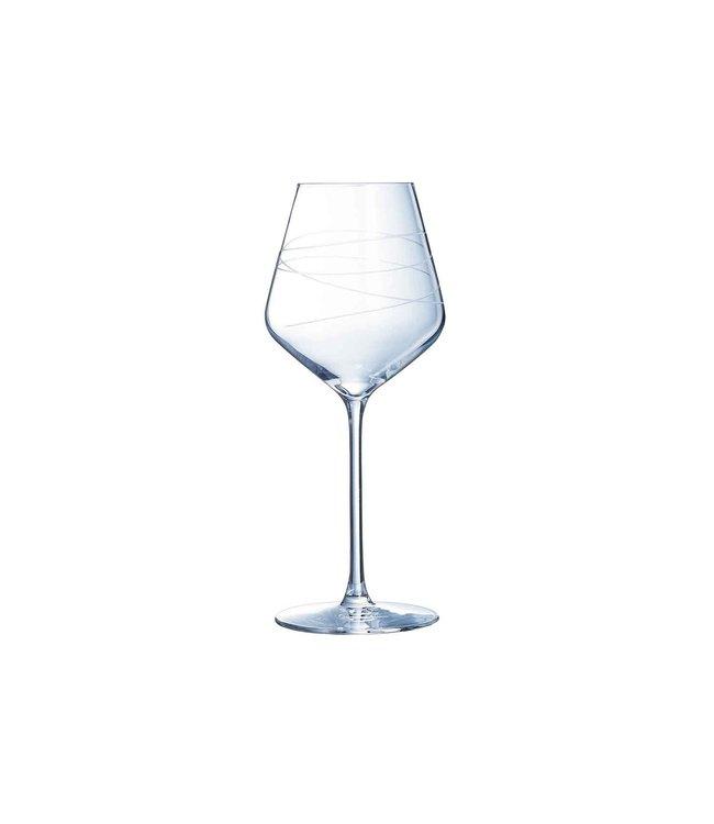 Eclat Abstraction - Wijnglas - 38cl - (Set van 4)