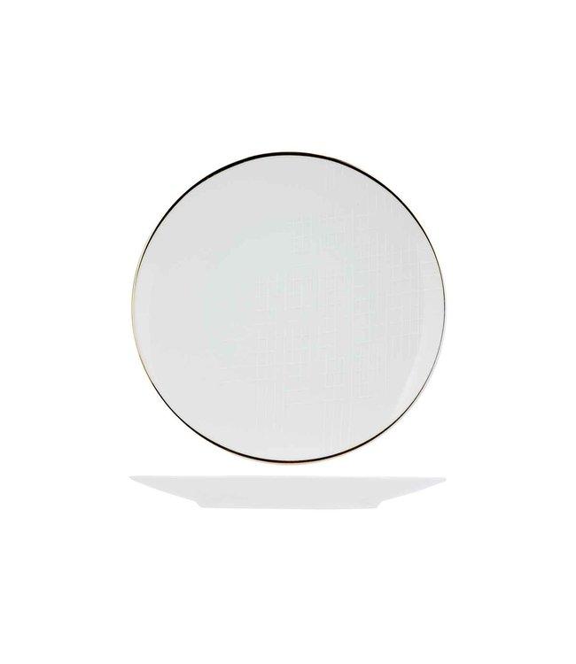 Cosy & Trendy Alina - Dessertbord - D21cm - Porselein - (Set van 6)