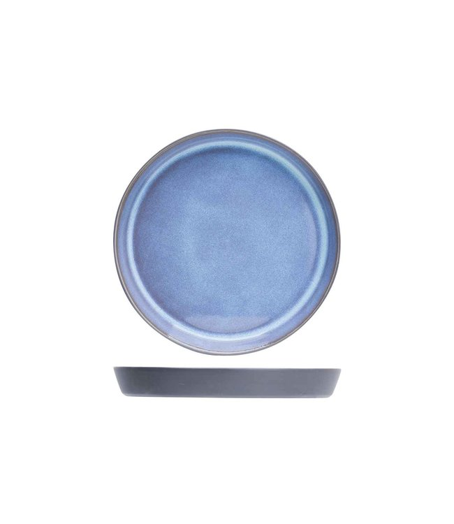 Cosy & Trendy Baikal Blue Broodbordje Aardewerk - D12,5cm (set van 6)