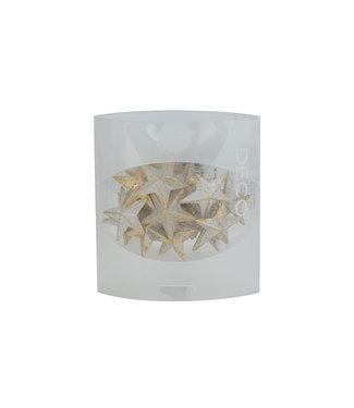 Eurosand Streudeco Diamond Stars 36mm Box 155ml Gold 3,6x3,6xh3,6cm Acryl