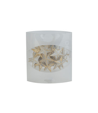 Eurosand Strew Deco Diamond Stars 36mm Box 155mlgold 3,6x3,6xh3,6cm Acrylic (set of 10)