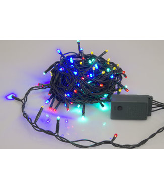 Light Creations Sparkle Light Led 8m 120l Multicolorgruner Draht 24v Moldulator Ext.2.5m