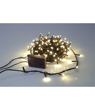 Light Creations Sparkle Light Led 20m 300l Warm Weissegruner Draht 24v Modulator Ext.2.5m