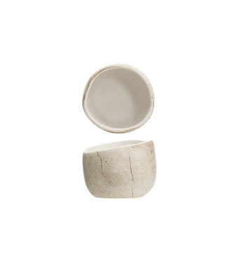 Cosy & Trendy Lithos - Apero jar - D6.5xh5.2cm - Ceramic - (set of 4)