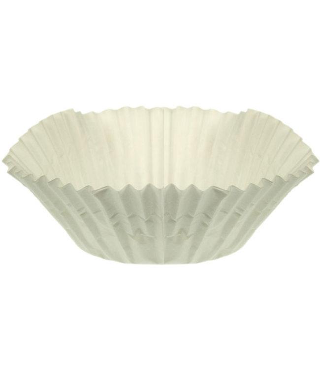 Cosy & Trendy Bakvormpje - D11,5x5cm - Papier - Wit - (set van 450)