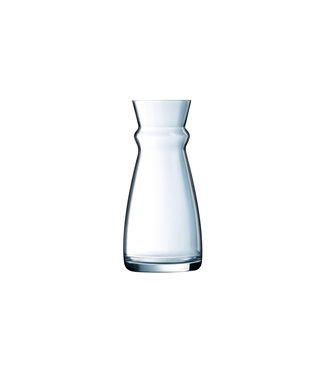 Arcoroc Fluid - Carafe blanch stopper - 0,5 Liter - Glas - (Set of 6)