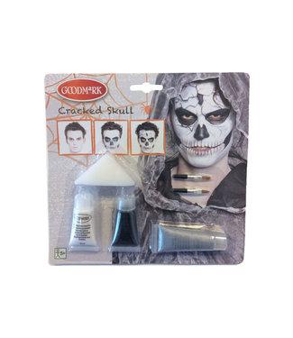 Goodmark Hallwn. Character Cracked Skull (12er Set)