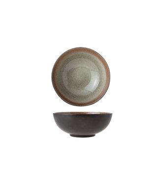 Cosy & Trendy Spuntino - Schneckenschale - D20cm - Keramik - Grün