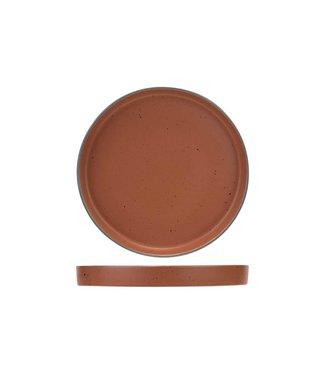 Cosy & Trendy For Professionals Copenhague - Red - Dessert plate - D21cm - Porcelain - (set of 6)