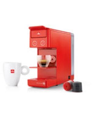 Illy Y3.2 Koffiemachine Rood 10x29.5x26.4cm0.75l Waterreservoir - Abs