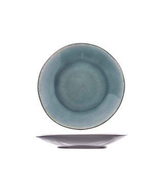 Cosy & Trendy Laguna Blue-grey Saucer D13.5cm (set of 6)
