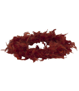 Cosy @ Home Feather Boa With Down Brown 180cm 45g