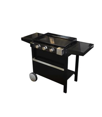 Cook'in Garden Finesta Plancha Gas 3 Brenner On Cartmit Decekel 58x124xh91cm