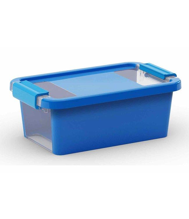 Buy Bi Box Storage Box Xs Blue 3l Plastic Set Of 5 Online Yourkitchen Eu