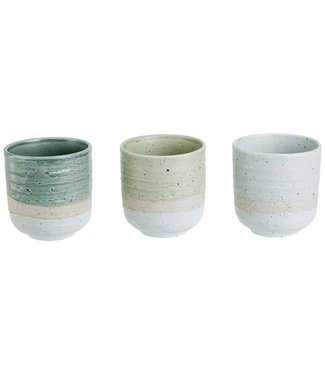 Cosy & Trendy Miyako - Small Cups - 17cl - D7xh7,3cm - Ceramic - (set of 6)