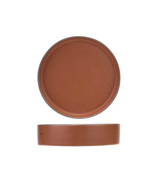 Cosy & Trendy For Professionals Copenhague Red Clay Diep Bord D21xh5cm