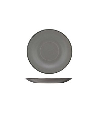 Cosy & Trendy Speckle-Gray - Coffee plate - D14.5cm - (set of 6)