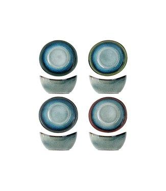 Cosy & Trendy Jamiro-Mix - Bowl - Ceramic - (Set of 4)