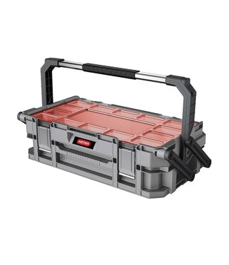 Keter Connect Cantilever - Organizer - Grijs-rood - 56.5x32xh16cm