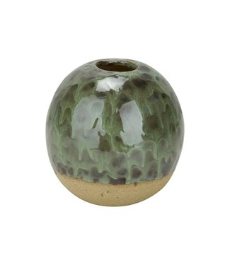 Cosy @ Home Vase Grun 13x13xh13cm Rund Keramik