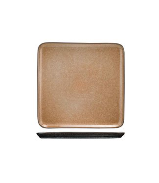 Cosy & Trendy Lerida Desert Bord 25,5x25,5cm vierkant (set van 4)