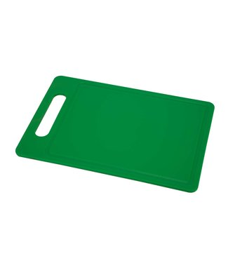 Cosy & Trendy Cutting board - Green - 38x26xh, 75cm - with Juice channel - Plastic.