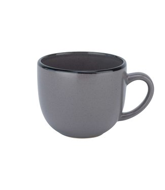 Cosy & Trendy Speckle-Gray -Coffee cups - 24cl - Ceramic - (set of 6)