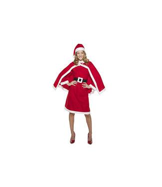 Goodmark Kerstvrouwpakje 4-delig