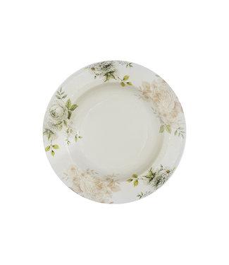 Cosy & Trendy Rosa Deep Plates D23xh3.2cm - Ceramic - (set of 6)