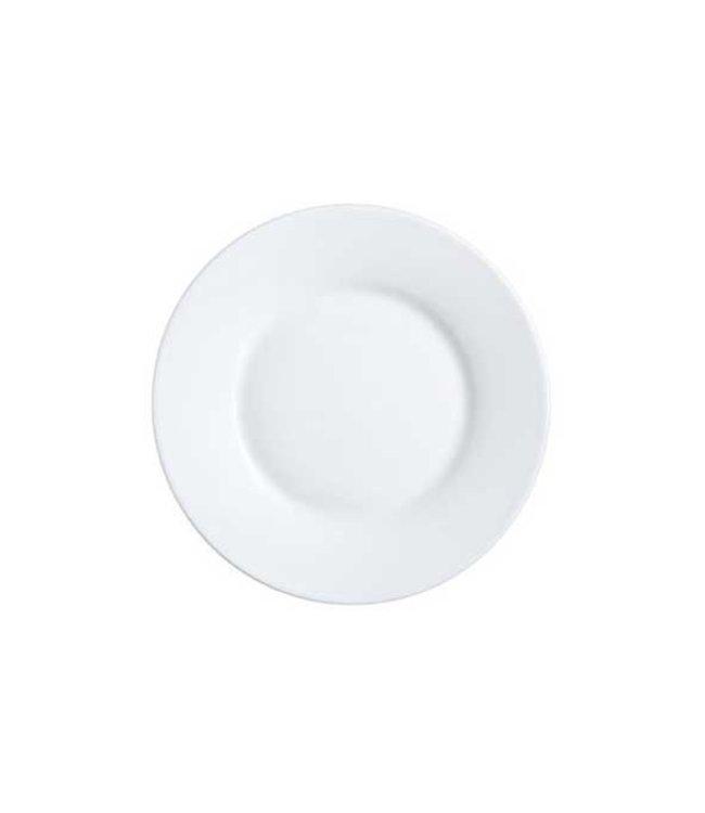 Luminarc Alizee - Dessertbord - Wit - 22cm - Glas - (set van 6).