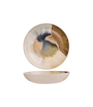 Cosy & Trendy Miro - Deep Plate - D20xh4,4cm - Ceramic - (Set of 6)