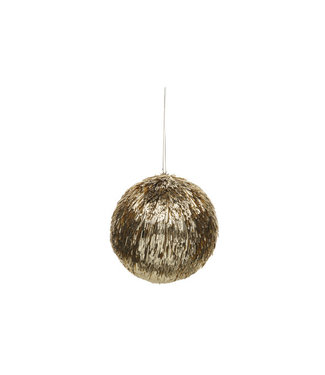 Cosy @ Home Bal Straw Goud D13,5cm