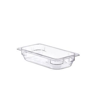 Araven Basic Frischhaltedose Gn1-3 H6.5cm 2.4lpc - Ohne Lid 53x32.5cm Transparant (6er Set)