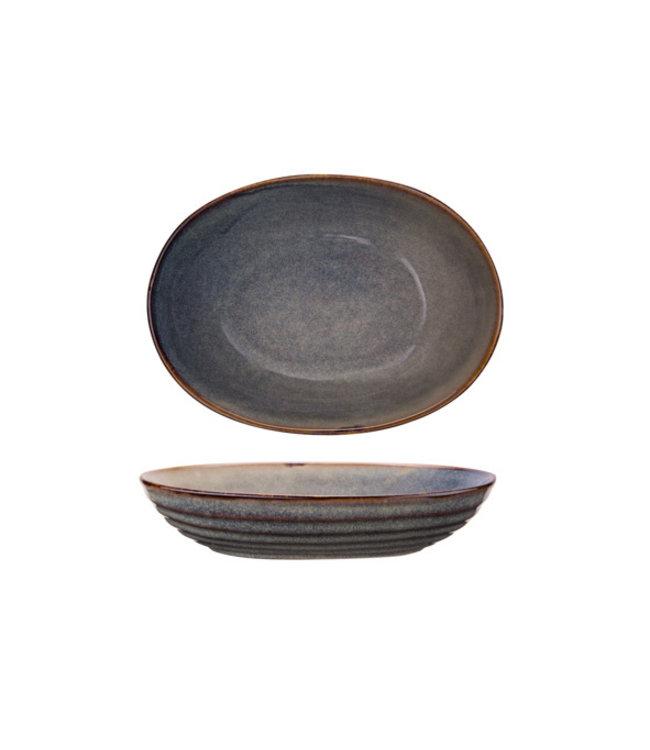 Cosy & Trendy Ararat - Schaal - 24,5x18xh5,2cm - Keramiek - (Set van 3)