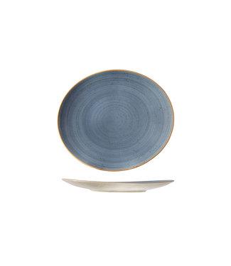 Cosy & Trendy For Professionals Terra-Blue - Steakbord - D26.5x30cm - Porselein - (set van 6)