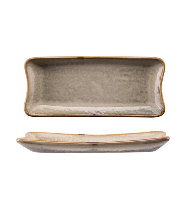 Cosy & Trendy Ararat - Schaaltje - 22x9,5xh2,5cm - Keramiek - (Set van 6)