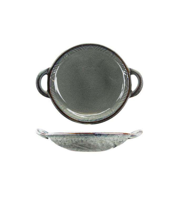 Cosy & Trendy Ararat - Schotel - D24xh5,3cm - Keramiek - (set van 2)