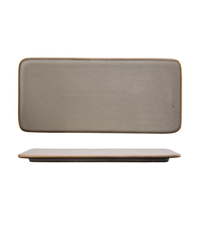 Cosy & Trendy Ararat - Presentatiebord - 36,5x16,8cm - Keramiek - (set van 2)