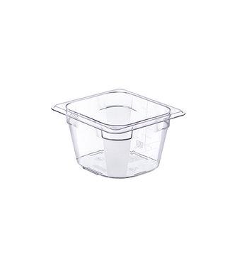 Araven Basic Frischhaltedose Gn1-6 H10cm 1.6lpc Ohne Deckel 17.6x16.2cm (6er Set)