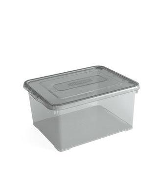Kis C-box - Opbergbox - Portobello L - 27 Liter - 55x38,5xh16,5cm - (set van 6)