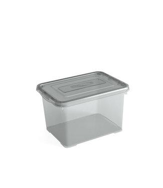 Kis C-box - Opbergbox - Portobello - S - 11 Liter - 37x26xh14cm - (set van 6)