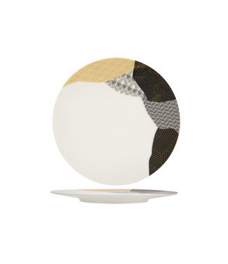 Chef & Sommelier Fragment Ambre Dessertbord 21,.5cm (set van 6)