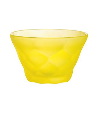 Luminarc Iced Diamond - Sundae - Yellow - D10cm - Glass - (set of 12).