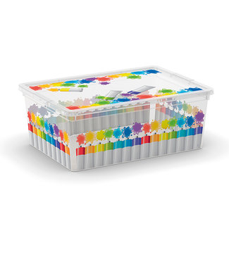 Kis C-box Aufbewahrbox Arty Colours S 11l 37,5x26xh14cm
