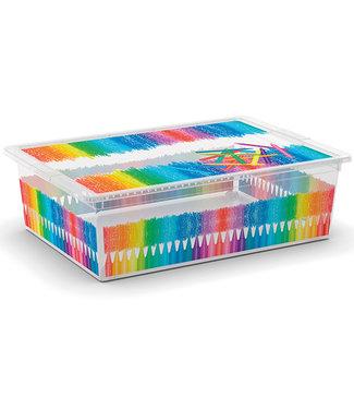 Kis C-box Aufbewahrbox Arty Colours L 27l 55x38,5xh16,5cm