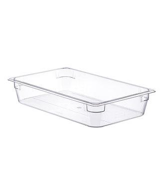 Araven Basic Container Gn1-1 H10cm 13,4l Pcwithout Lid 53x32.5cm Transparant