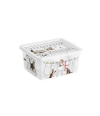 Kis Pets C-box Opbergbox Xxs 2l 19,5x16,5xh9,5cm (set van 7)