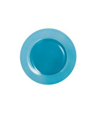 Luminarc Factory - Dinerbord - Blauw - D25cm - Opaal - (set van 6).